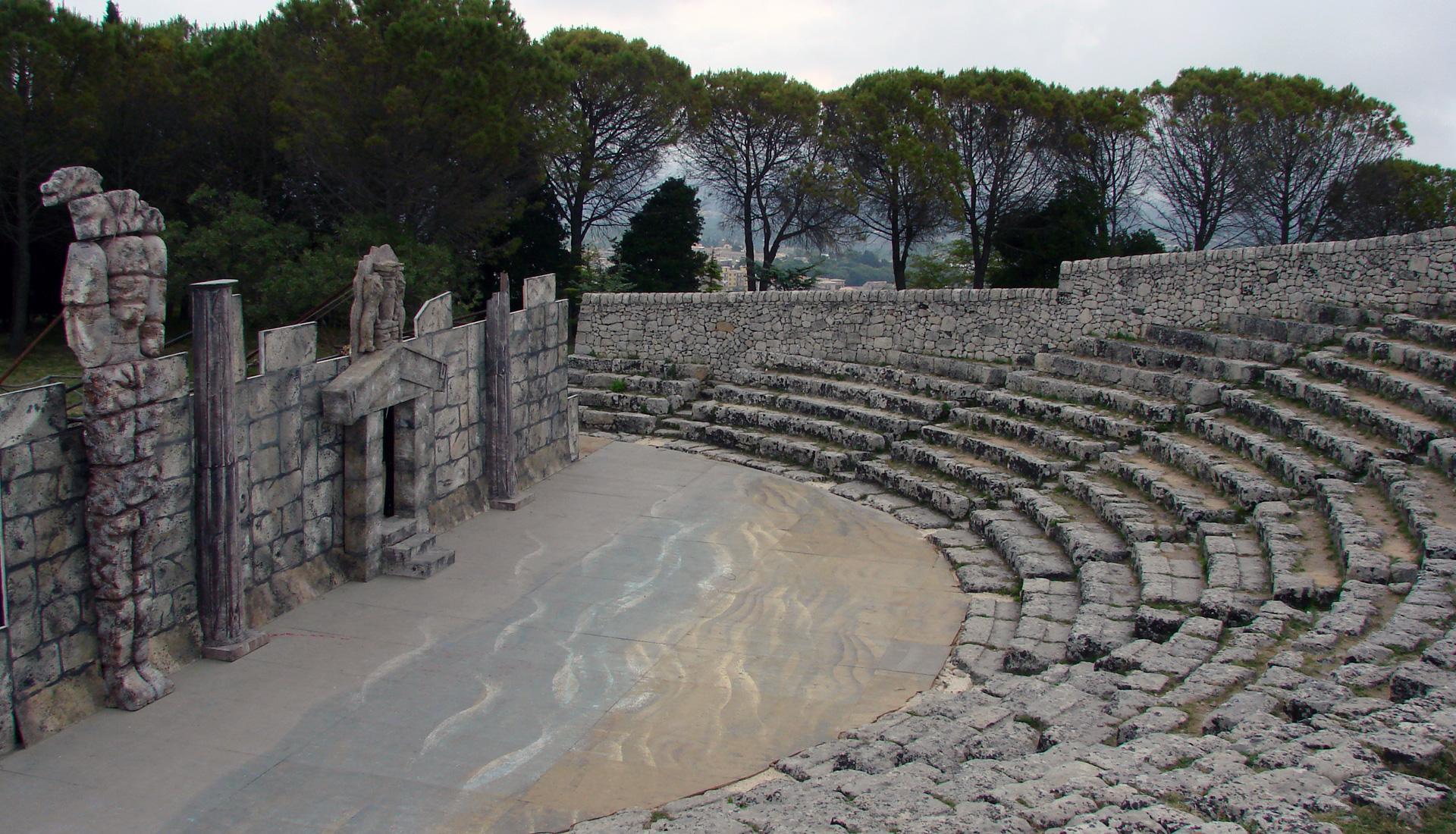 Teatro Greco Palazzolo Acreide